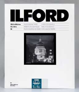 ILFORD MG IV Deluxe 30x40/10 44M (perła)