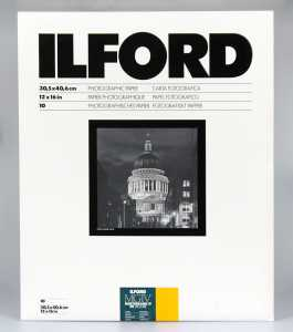 ILFORD MG IV Deluxe 30x40/10 25 M (satyna)