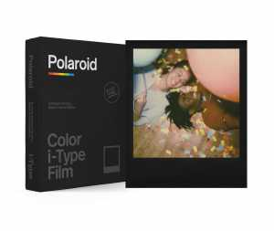 POLAROID Color film do I-TYPE Black Frame