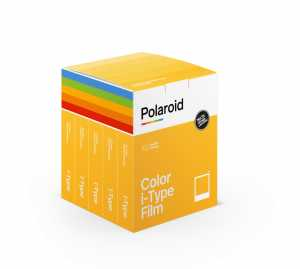 POLAROID Color film do I-TYPE  pięciopak 5x8