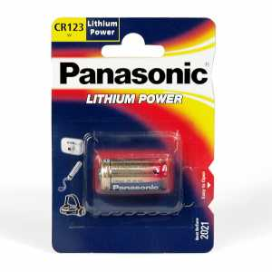 PANASONIC Bateria CR 123