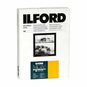 ILFORD MG IV Deluxe 10x15/100 25M ( satyna )