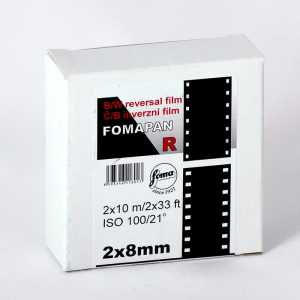 FOMAPAN R 100 Film 2x8 mm/10 metrów
