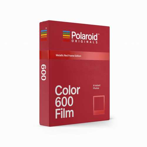 Polaroid Orginals 600 Color Metalic Red